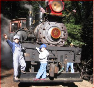 Roaring Camp at Felton, CA